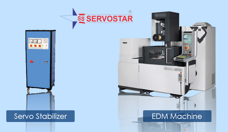 servo stabilizer with EDM Machine